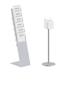 Floor Standing Brochure & Literature Holders