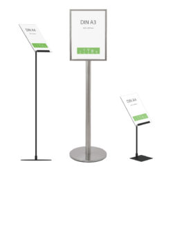 Floor Standing Frames & Sign Holders