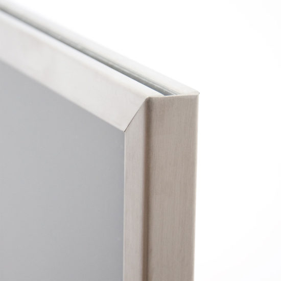Stainless Steel Display Stand Q EZI Frame detail
