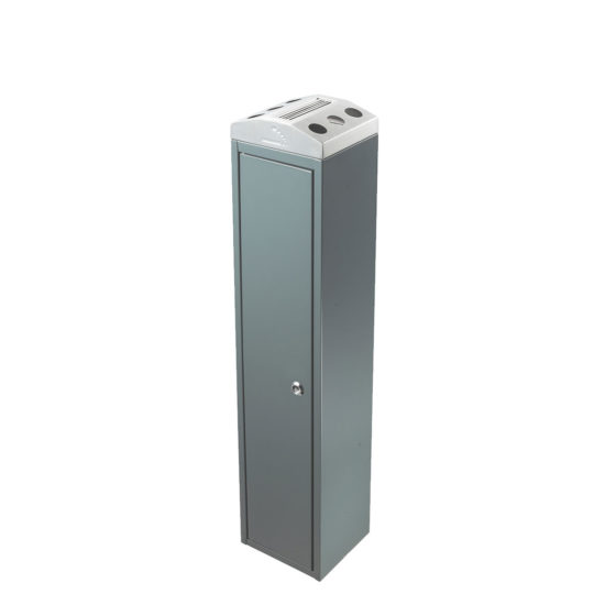 Free Standing Ash Bin Tower Square gray main