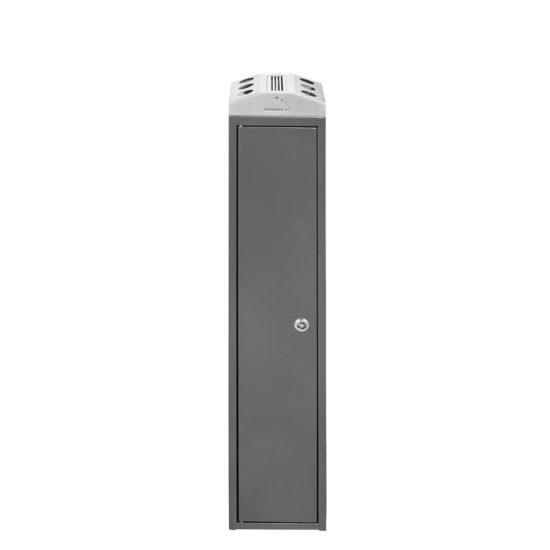 Free Standing Ash Bin Tower Square dark gray front