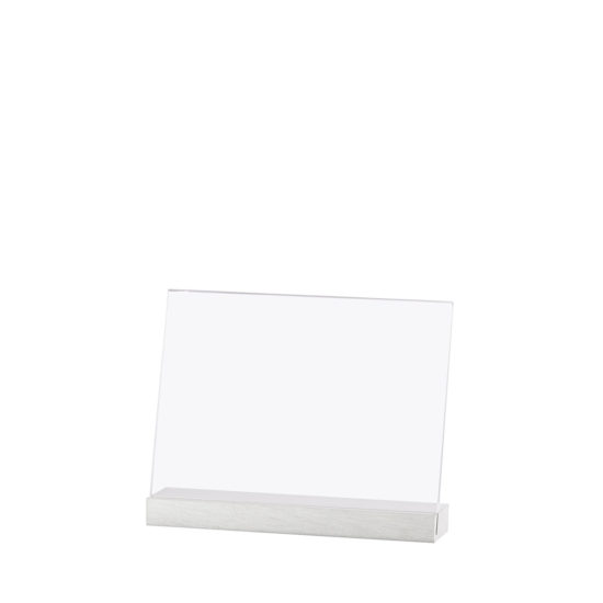 Counter Sign Holder Element Alu, Angled, A5L, Blank