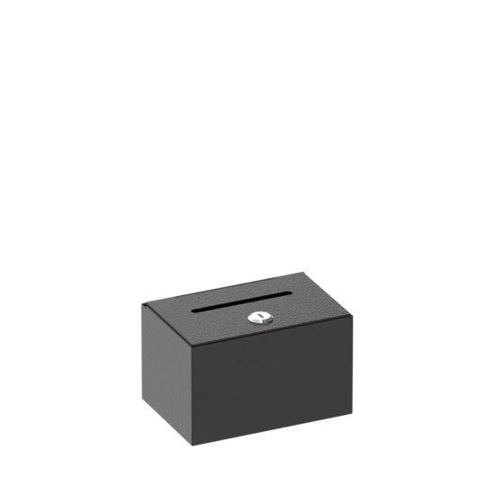 Dime Donation Box Black Main
