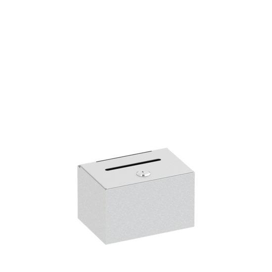 Dime Donation Box Silver Main