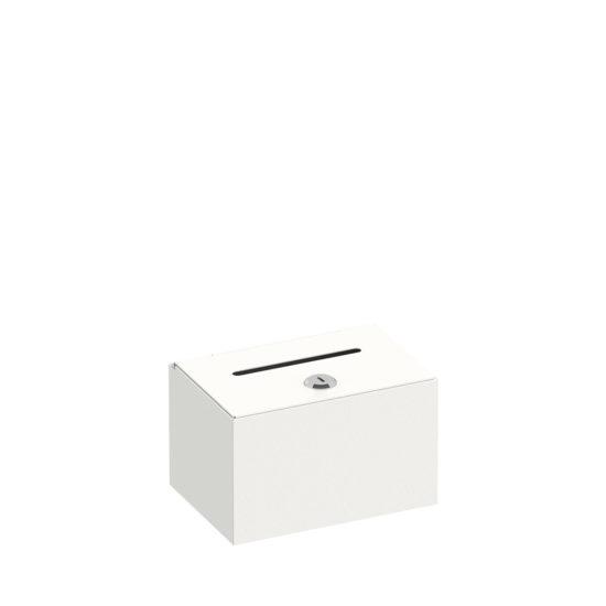 Dime Donation Box White Main