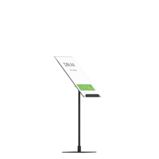 Display Stand Instand Midi, Angled Ctr A4 Flat