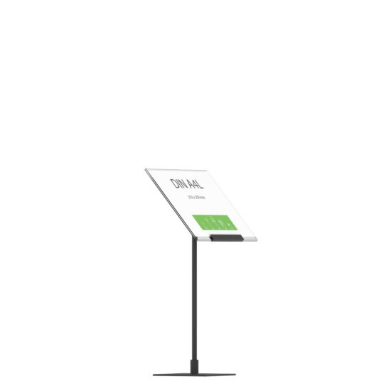 Display Stand Instand Midi, Angled Ctr A4L Flat