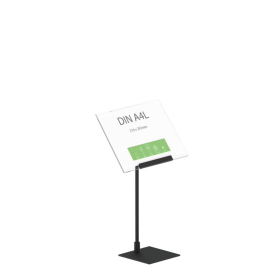 Display Stand Instand Midi, Angled Top A4L Main