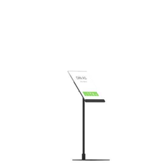 Display Stand Instand Midi, Angled Top A5 Flat