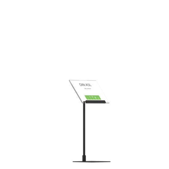 Display Stand Instand Midi, Angled Top A5L Flat