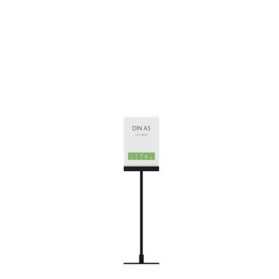 Display Stand Instand Midi, Straight Ctr. A5 Flat