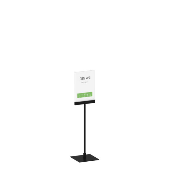 Display Stand Instand Midi, Straight Ctr. A5 Main