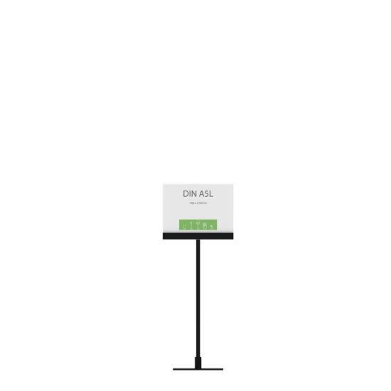 Display Stand Instand Midi, Straight Ctr. A5L Flat