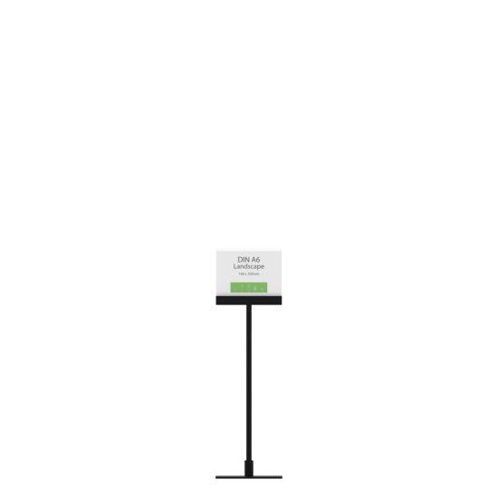 Display Stand Instand Midi, Straight Top A6L Flat