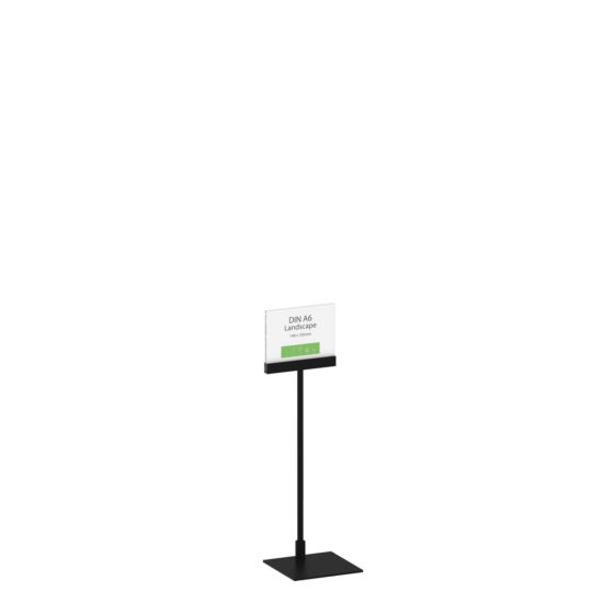 Display Stand Instand Midi, Straight Top A6L Main