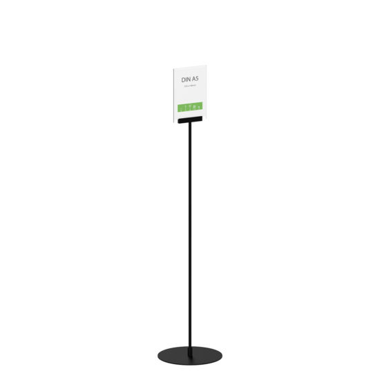 Display Stand Instand Maxi Straight Black A5 Main