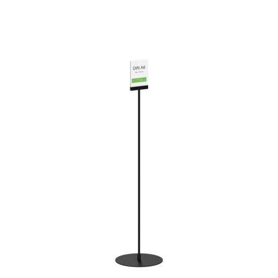 Display Stand Instand Maxi Straight Black A6 Main