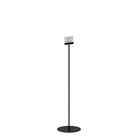 Display Stand Instand Maxi Straight Black A7L Main