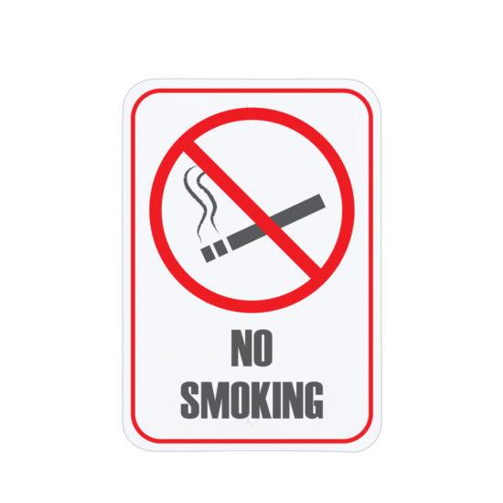Facility Signs No Smoking Area Sign English