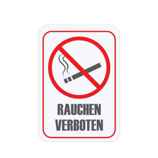 Facility Signs No Smoking Area Sign Deutsch