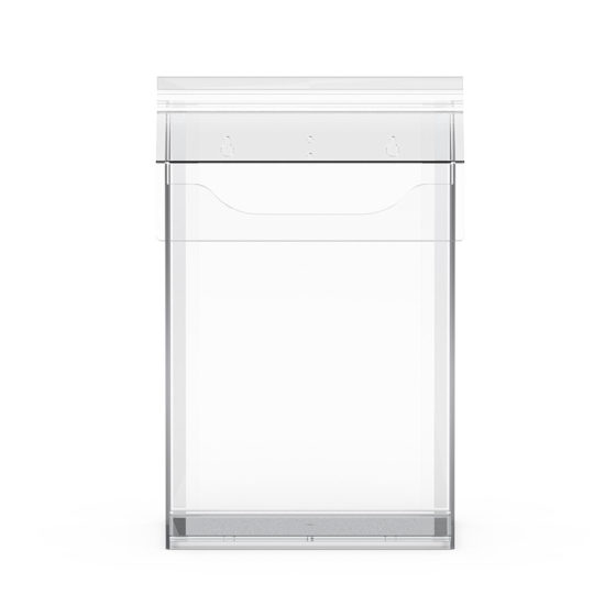 Outdoor Brochure Holder Cove A4 XL front, Blank