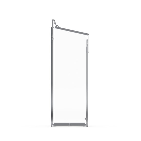 Outdoor Brochure Holder Cove A4 XL side, Blank
