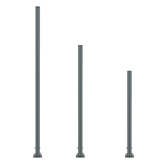 Outdoor Stand POST Kit Gray