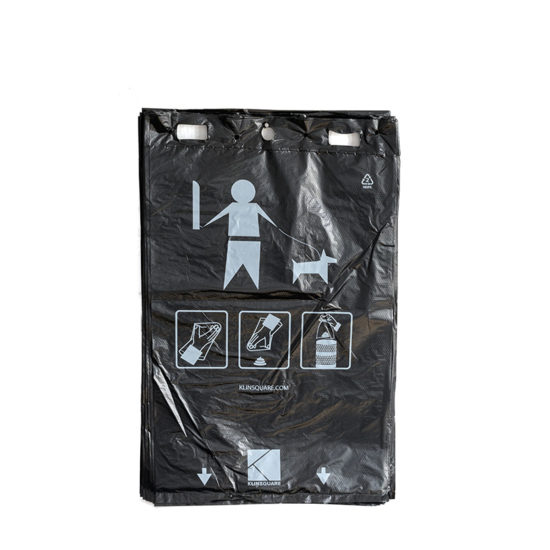 Pet Waste Header Bags Klinsquare front