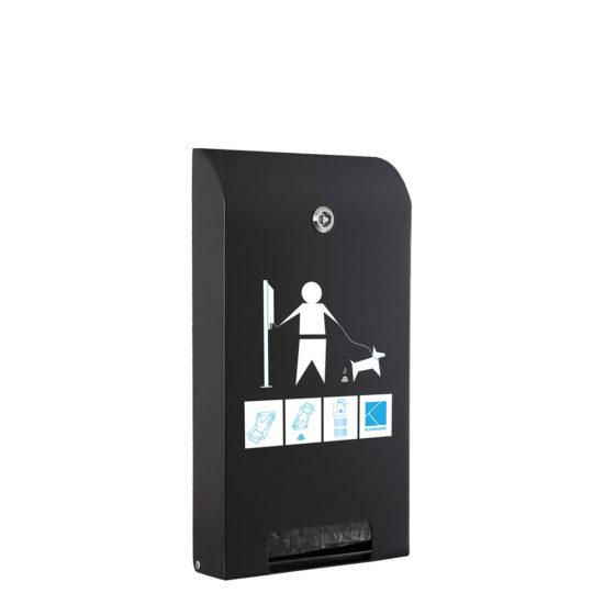 Bag Dispenser Canine Classic black main