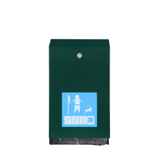 Pet Waste Stations Canine eco, Green front