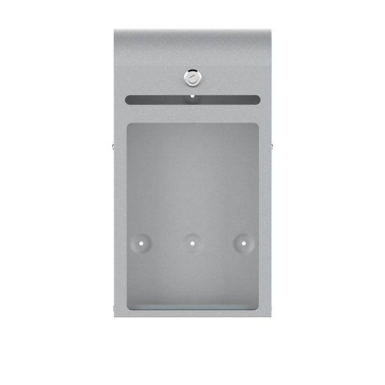 Suggestion Box Karpas Curved Silver Front Blank