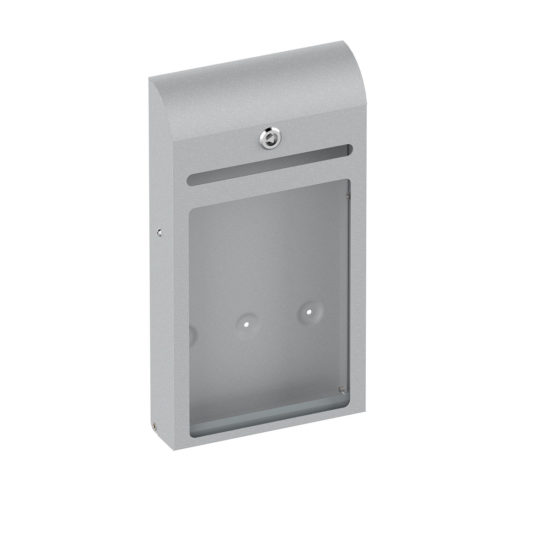 Suggestion Box Karpas Curved Silver Main Blank
