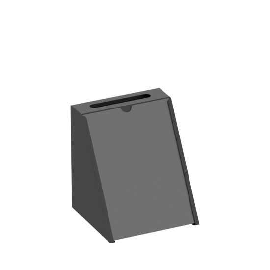 Suggestion Box Karpas Tabletop Black Main Blank