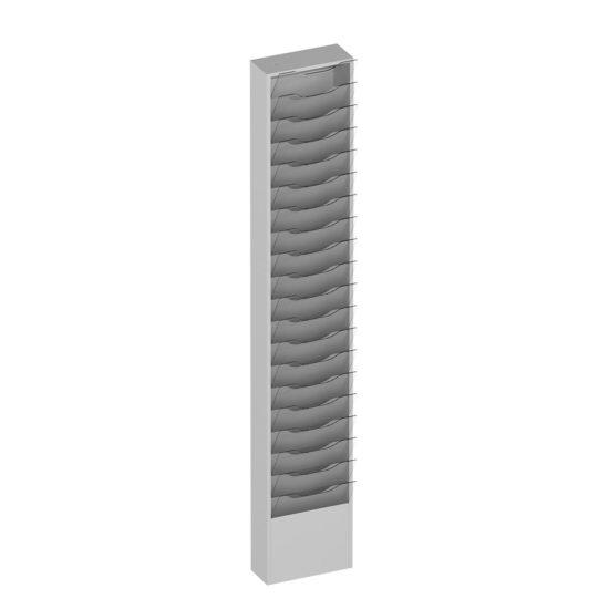 Wall Literature Holder Sorti 20 Slim Blank