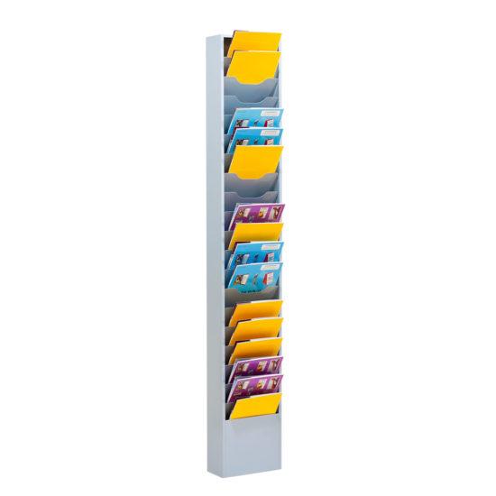 Wall Literature Holder Sorti 20 Slim with brochures main