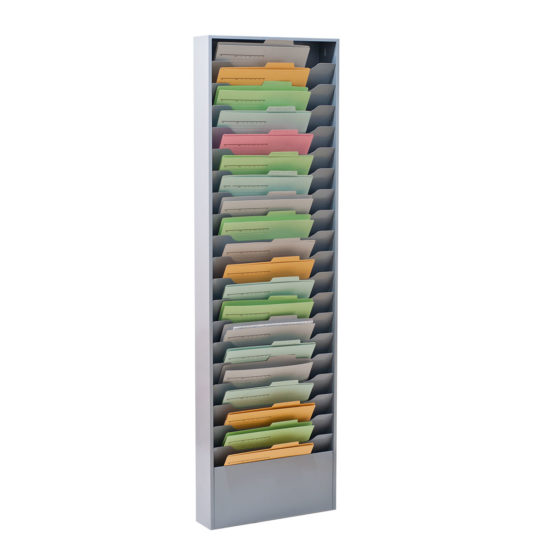 Wall Literature Holder Sorti 20 Wide with Folders main