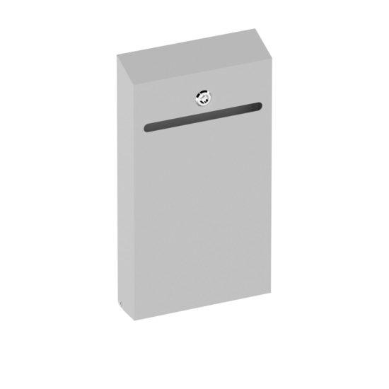 Wall Suggestion Box Karpas Silver Main