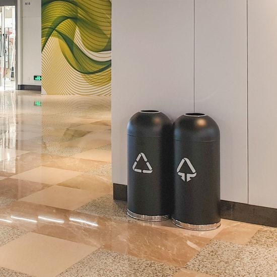 Waste Bin DOM in a mall