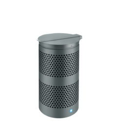 Outdoor Bin Cyli Dark Gray