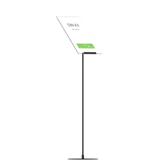 Display Stand Instand Maxi, Angled A3 Flat