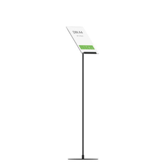 Display Stand Instand Maxi, Angled A4 Flat