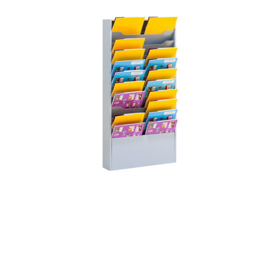 Wall Literature Holder Sorti 11 Wide with catalogues Main