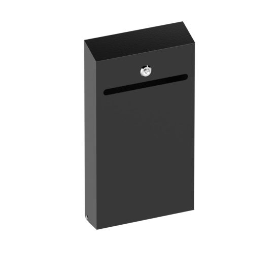 Wall Suggestion Box Karpas Black Main