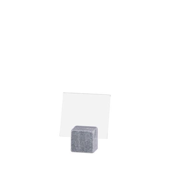 Counter Sign Holder ELEMENT Stone Midi Bright A8L Blank