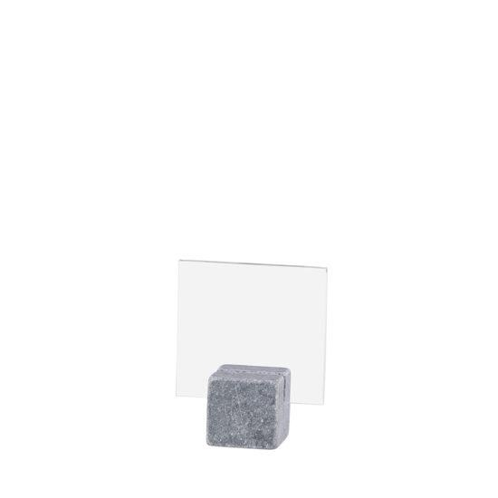 Tabletop Sign Holder ELEMENT Stone Midi Bright A8L Blank