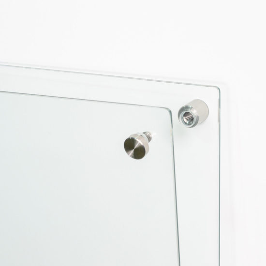 Glass Floating Frame fixture