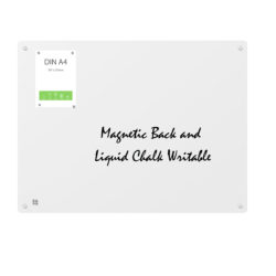 Magnetic GlassBoard front chalk & Magnetic