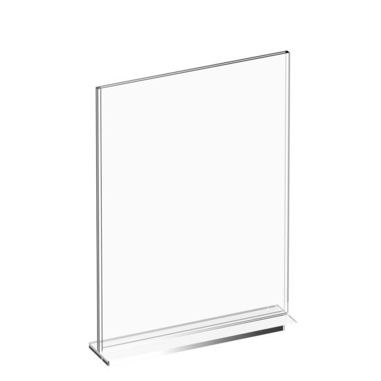 Tabletop Sign Holder Premium T-Sign A4 Blank