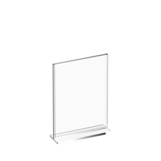 Tabletop Sign Holder Premium T-Sign A5 Blank