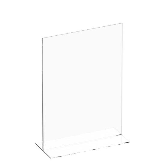 Tabletop Sign Holder Slim T-sign A4 Blank
